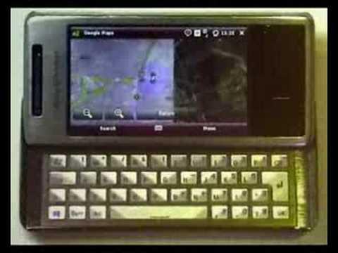Sony Ericsson XPERIA X1 A-GPS