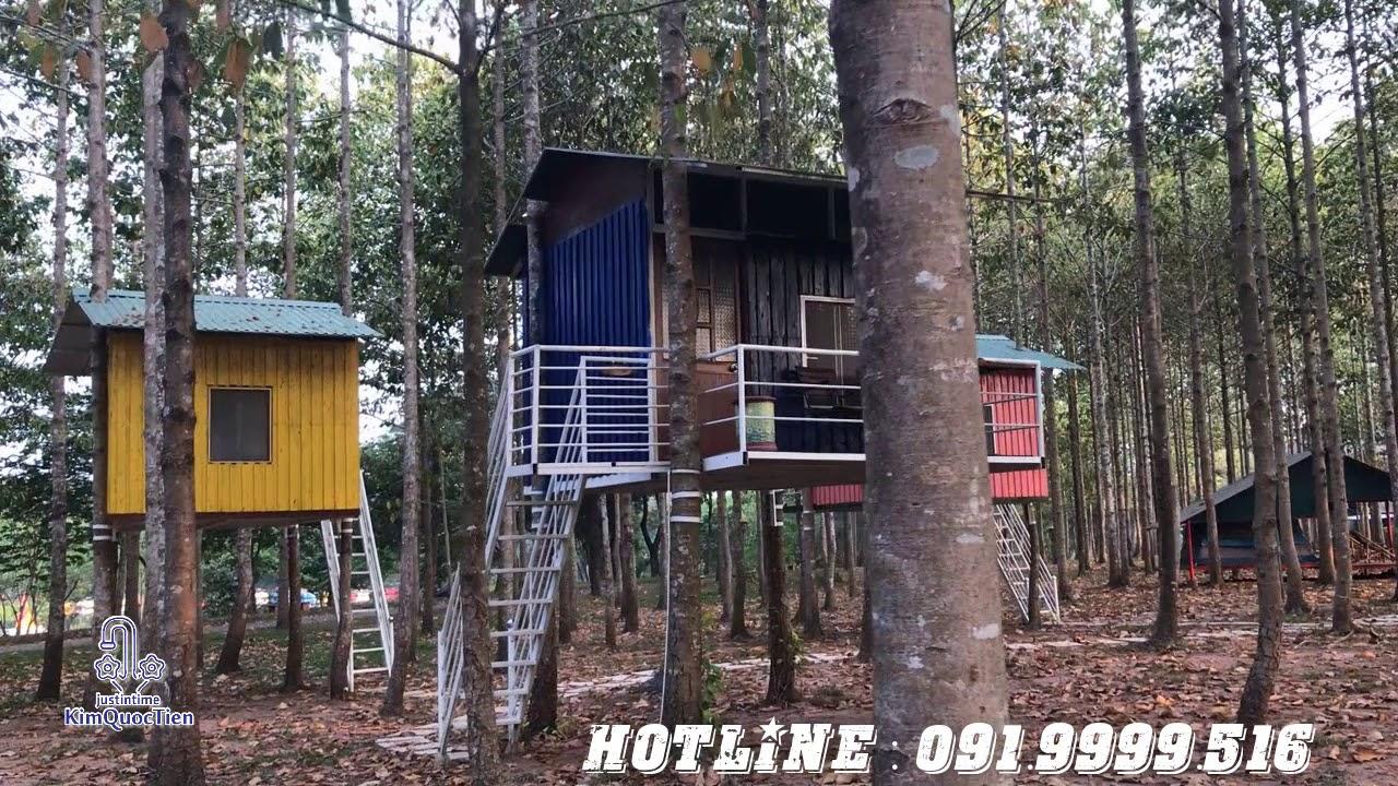 Homestay – Nhà trên cây tại khu du lịch Giang Điền Đồng Nai 2019 –  – DAILY VLOG 27