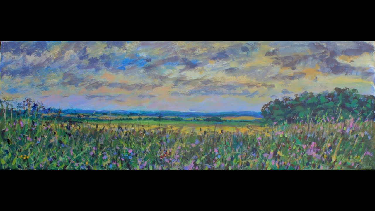 Wildflower Meadow A Two Hour Lesson With A Student Using