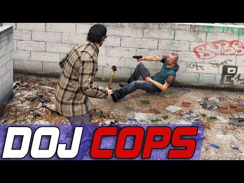 Dept. of Justice Cops #522 - State Wide Spree