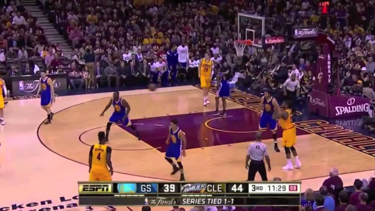 2015 NBA Finals Cleveland Cavaliers vs Golden State Warriors Game 3 Full Highlights - YouTube