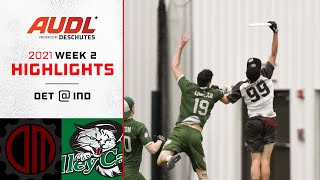 Detroit Mechanix at Indianapolis AlleyCats   Week 2   Game Highlights