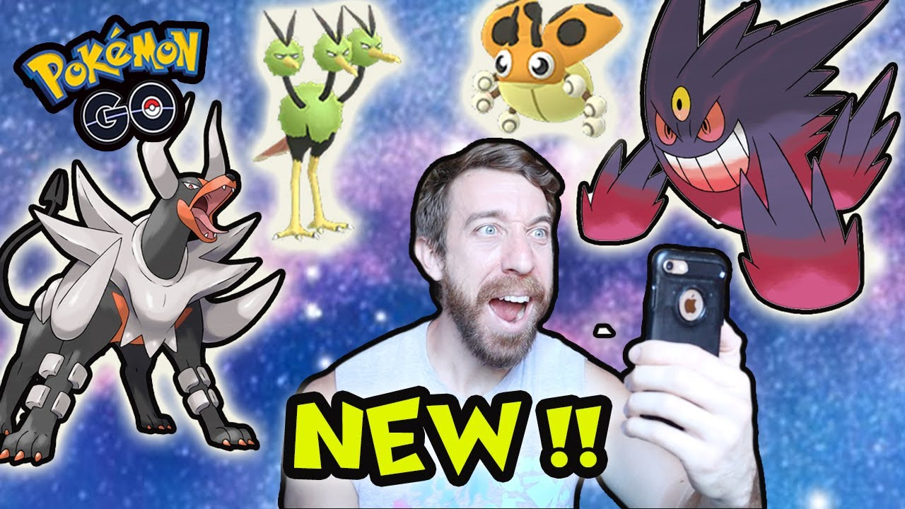 NEW SHINY + NEW MEGA POKEMON ARE HERE! (POKÉMON GO)