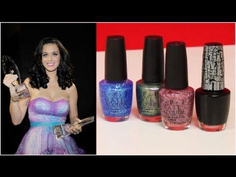 Katy Perry Black Shatter Nail Polish Review