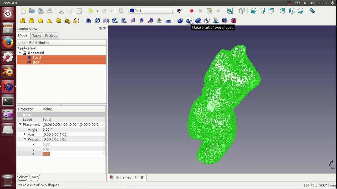 Tutorial: Edit a 3D STL from Thingiverse with FreeCAD - video