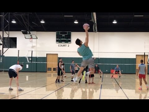 FEELIN THE SERVE - Open Gym Volleyball Highlights (2/2/17) part 1/2
