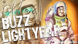 Gambar cover Drawing Buzz Lightyear using pencils and Copic markers