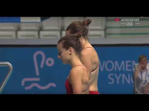 AMAZING !! Top Videos Beautiful Divers // Women's Diving
