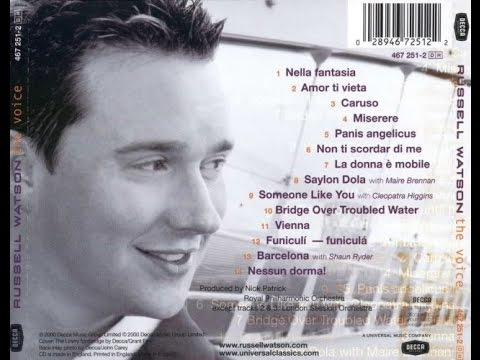 Russell Watson: 'The Voice' (Full Album Uploaded in 1080p HD)