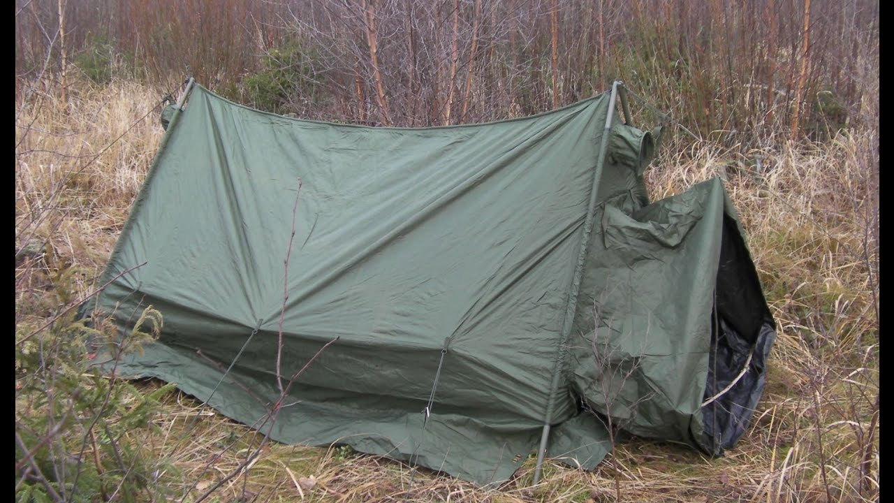 & British Army ARCTIC TENT review - YouTube