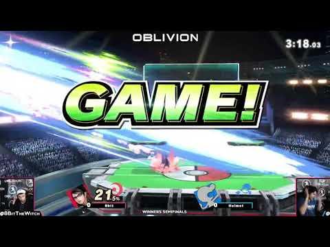 Oblivion #60 - 8Bit (Bayonetta) v Helmet (Game & Watch) [WS]  
