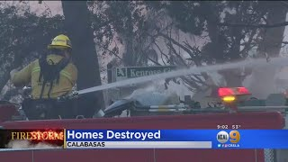 'It's Just Hard To Process': Woosley Fire Leaves Calabasas Residents Heartbroken