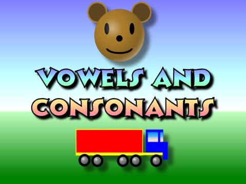Children S Vowels And Consonants Youtube
