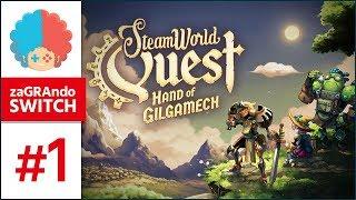 SteamWorld Quest PL #1 | Switch | Najlepsza gra ze świata SteamWorld? :o
