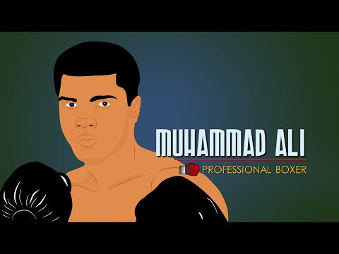 Muhammad Ali Biography (History for Kids) Educational Videos for Students Cartoon Network (CN)