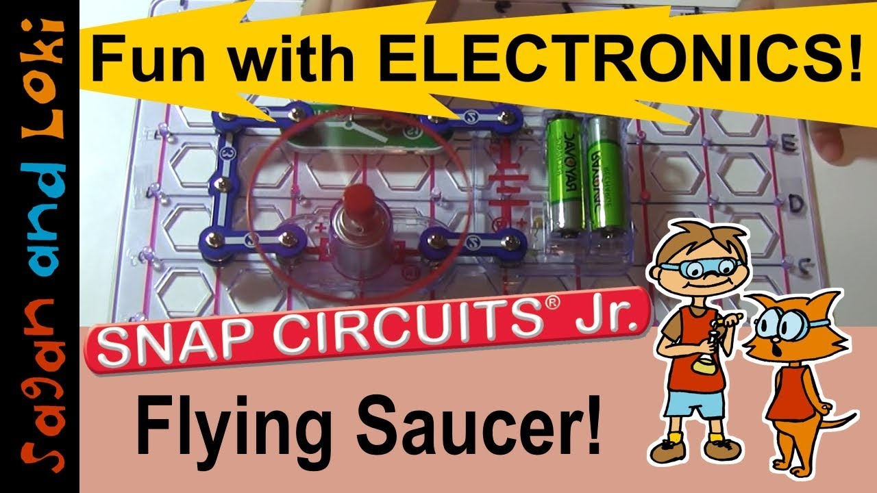 Flying Saucer Snap Circuits Jr Projects Ep11 Homeschool Circuit Light By Elenco Ebeanstalk Science Ideas