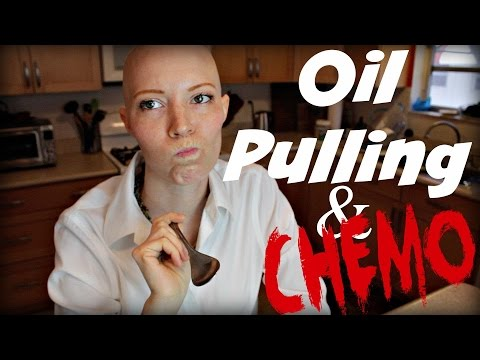 Prevent Mouth Sores- Oil Pulling With Chemo