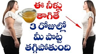 Lose Weight Instantly With Natural Methods | Natural Health Tips | Home Remedies | VTube Telugu