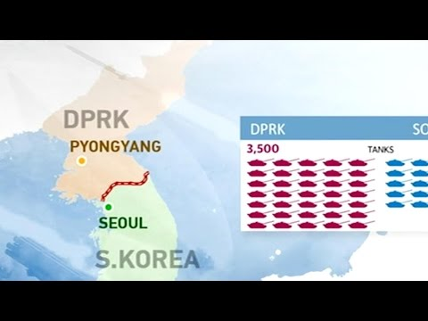 Thumbnail: Comparison in military strength between ROK and DPRK