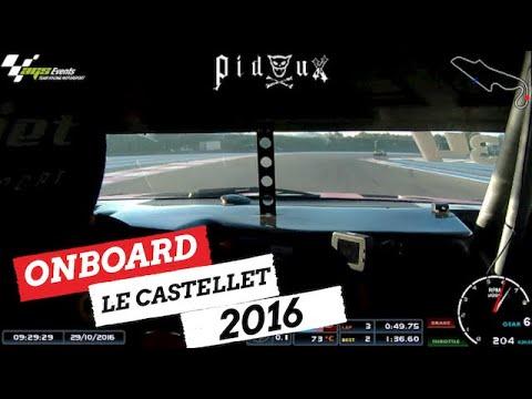 🚗 ONBOARD Marine Pidoux SuperTourisme ALES Racing Driver Girl