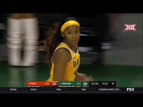 Texas At Baylor Women's Basketball Highlights