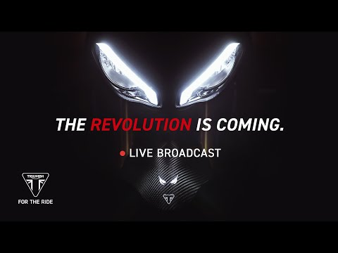All-New Triumph Speed Triple 1200 RS – Global Reveal