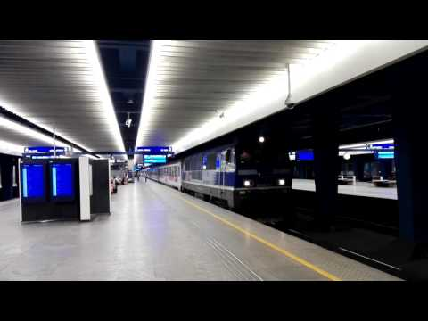 Train Poland Warsaw to Vienna Warszawa Centralna Wien Hauptbahnhof