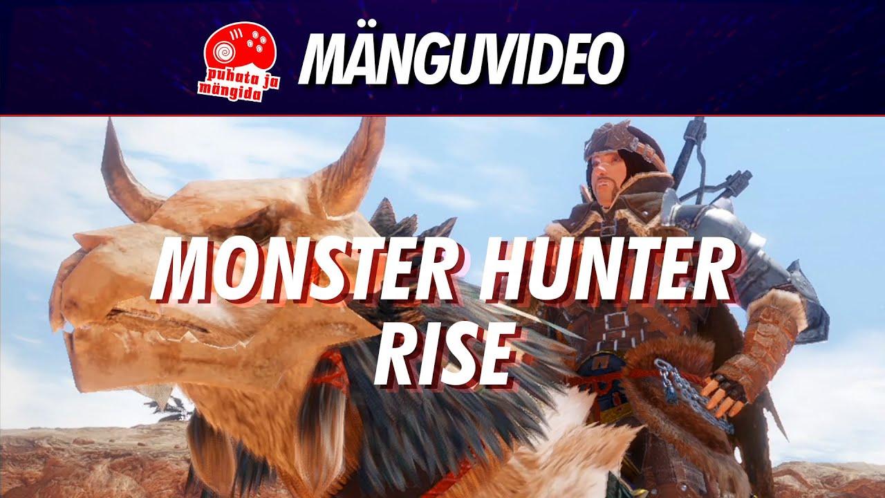 Monster Hunter Rise - kes on selle kandi kõige kõvem kollikütt?