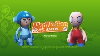PS3 Modnation Racers Create A Racer