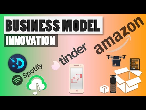 Business Model Innovation - The secret behind Amazon, Spotify and Tinder success
