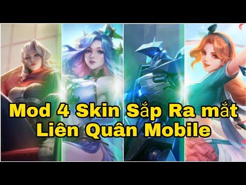 Mod 4 Skin Mới Sắp Ra Mắt Liên Quân Mobile Không Lỗi Mạng Bất Định