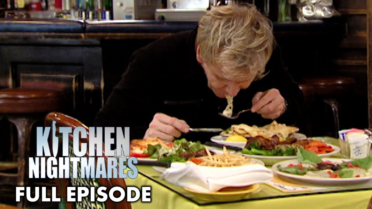 Download Gordon Ramsay Spits Out His Microwaved Food | Kitchen Nightmares