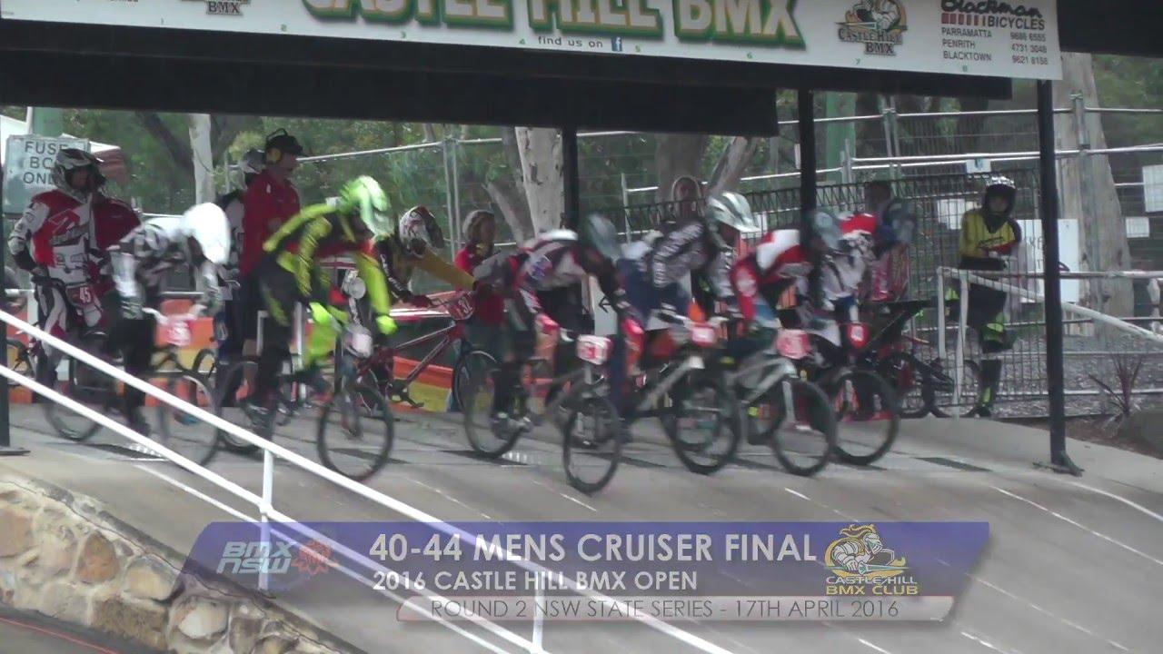 45 49 mens cruiser final 2016 castle hill bmx open - Open Castle 2016