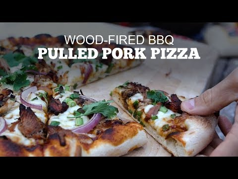 BBQ Pulled Pork Pizza | Green Mountain Pellet Grills