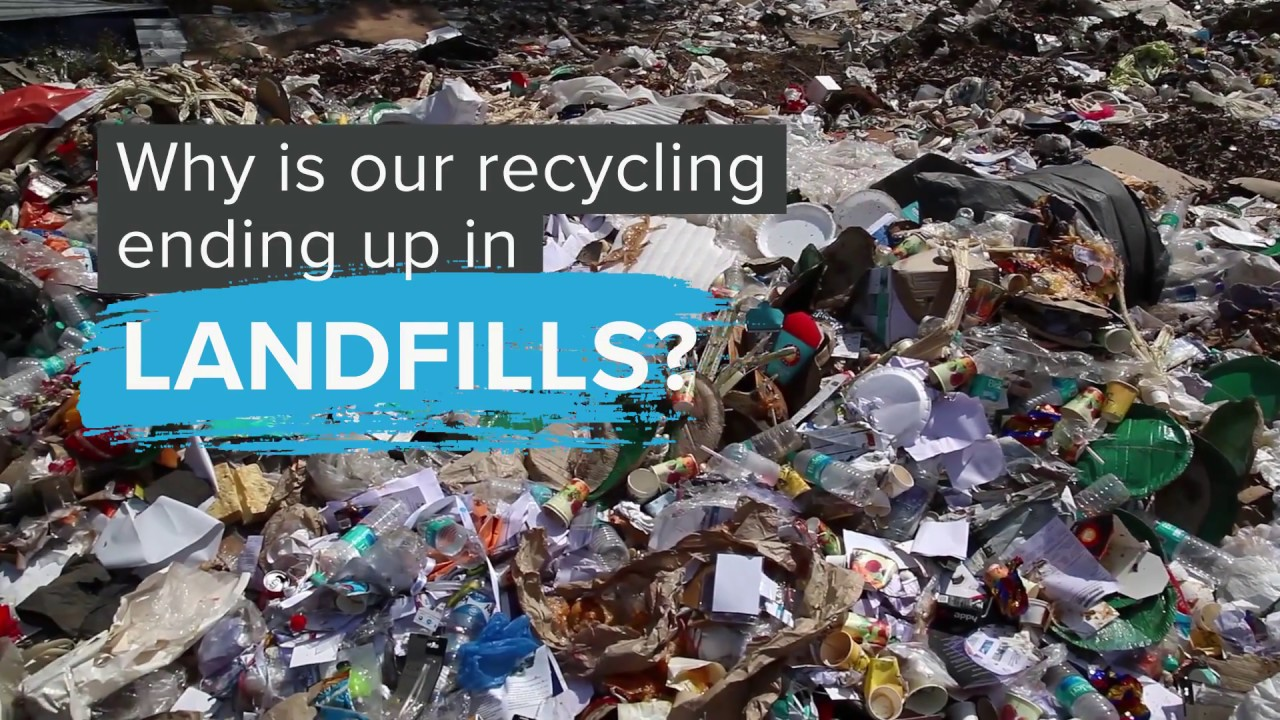 recycling landfill facts