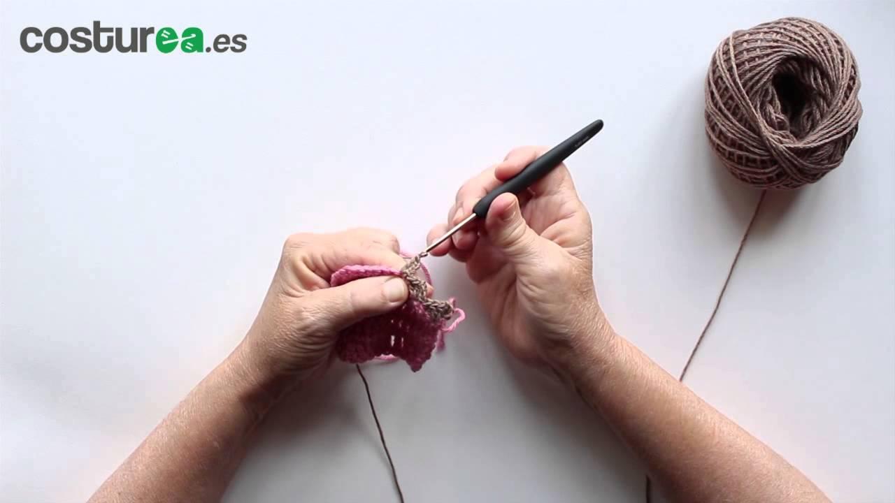 Remate ondas en ganchillo youtube for Remates a ganchillo