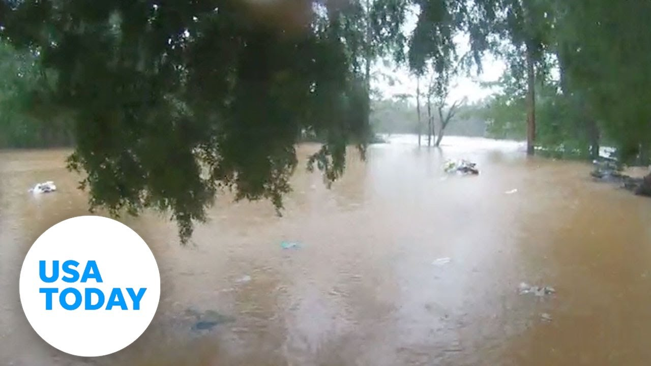 Hurricane Sally: Watch time lapse video of Perdido River's rise during the storm   USA TODAY