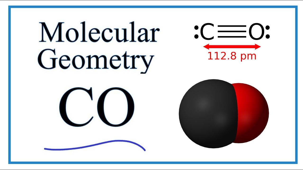Co Molecular Geometry Shape And Bond Angles Youtube