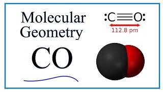 CO  Molecular Geometry / Shape and Bond Angles