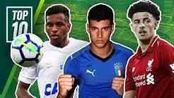 Der nächste Messi? Der nächste Zlatan Ibrahimovic? Die besten Talente des Weltfussballs!