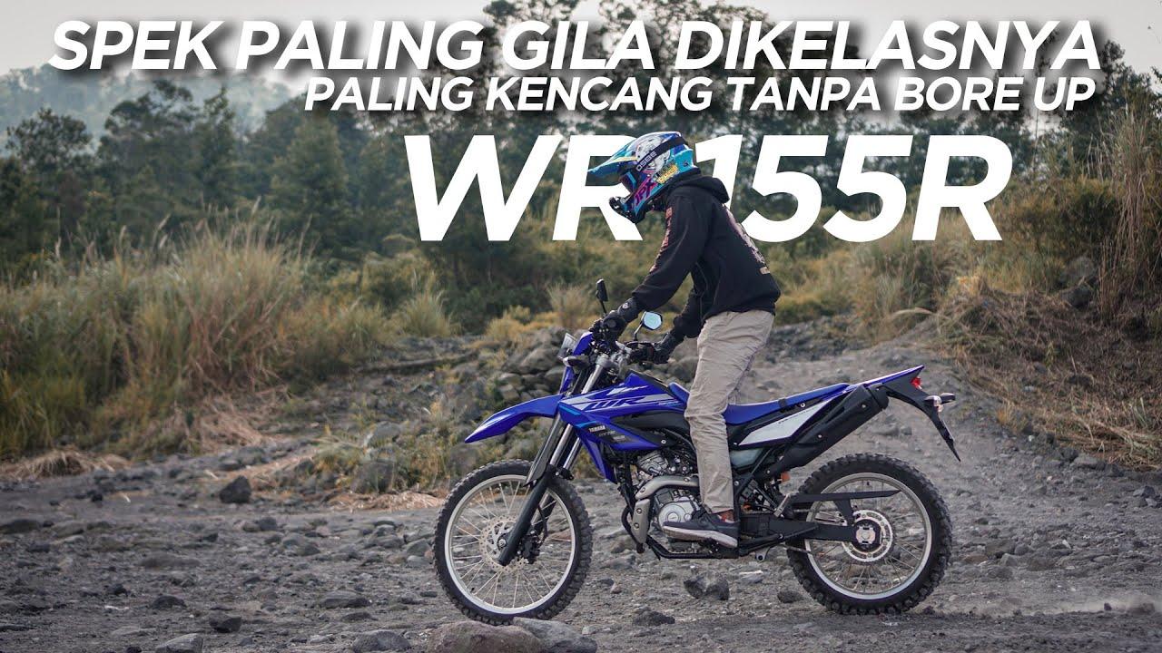 Bermain-main dengan Yamaha WR 155R dijalan Berbatu