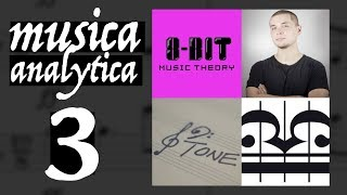 MUSICA ANALYTICA 3 | Livestream with 12tone, Sideways and 8-bit Music Theory