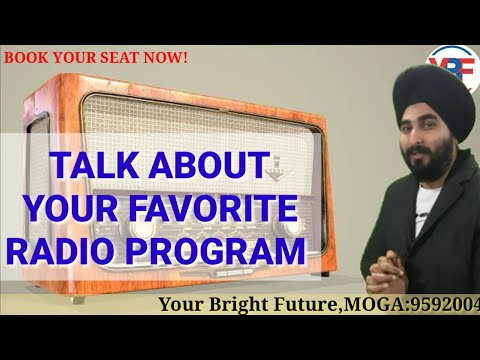Favourite Radio Programme | Latest IELTS Cue Card 2019| Best Sample Answer 8.0 Bands