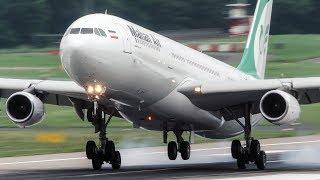 40 LANDINGS And DEPARTURES - BOEING 787, AIRBUS 340 ...