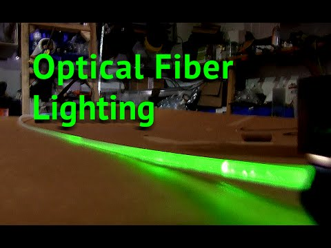 DIY Optical Fiber Light Tubes UV CURE RESIN for fiber optic Lightsaber