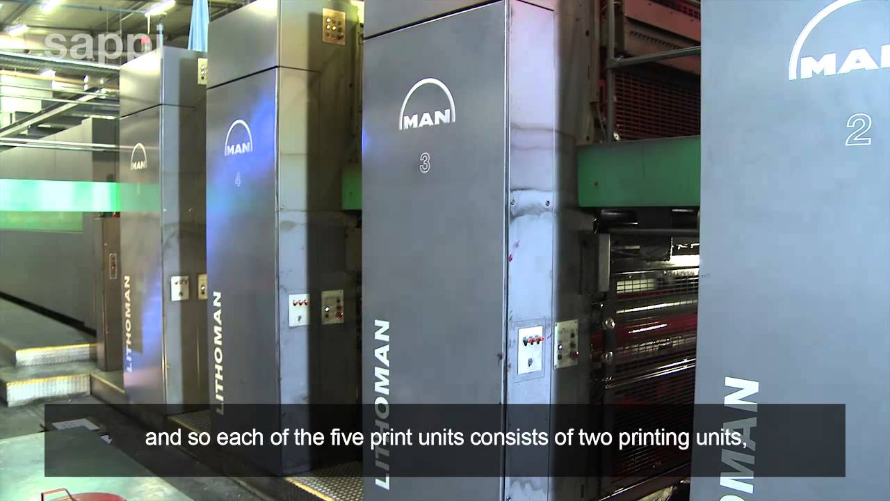 Web Offset Printing Machine The Printing Process Web Offset Press English Version