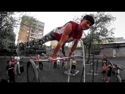 Workout Training In Abovyan (Street Workout Armenia)