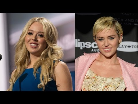 Tiffany Trump RNC Speech Sparks HILARIOUS Miley Cyrus Comparisons
