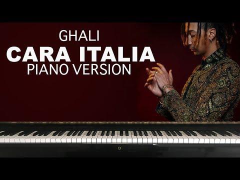Piano Ghali - Cara Italia Cover + Sheet Music