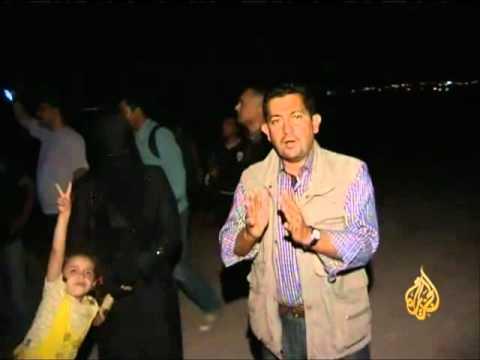 تواصل نزوح العائلات السورية إلى الأردن